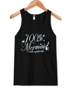 100% mermaid tanktop