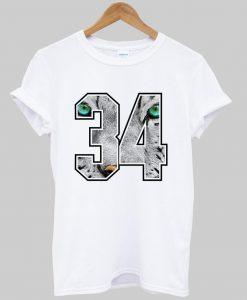 34 T shirt