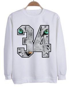 34 sweatshirt