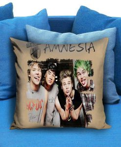 5SOS 5 Seconds of Summer Amnesia Pillow case
