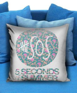 5SOS 5 Seconds of Summer Floral Pillow case