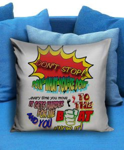 5 Seconds of Summer Don't Stop Pillow case