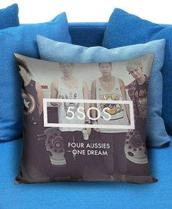5 Seconds of Summer One Dream Pillow Case