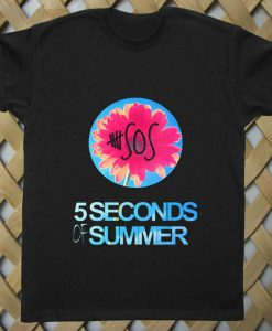 5 Sos  Floral Style T shirt