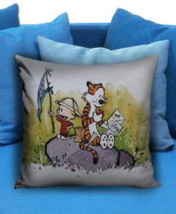 Adventure Calvin and Hobbes Pillow case