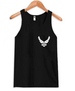 Air force racerback Tank top
