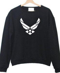 Air force racerback front sweatshirt