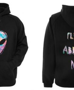 Alien Abduct Hoodie Two Side