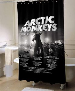 Arctic Monkeys Release Album shower curtain customized design for home decor