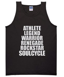 Athlete Legend Warrior Renegade Rockstar Soulcycle Sweatshirt