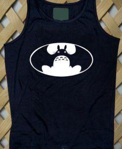 Batman Totoro Logo Tank top