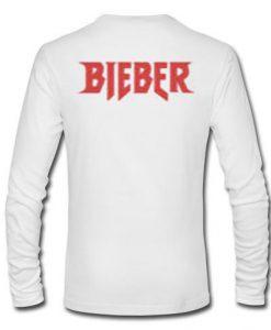 Bieber longsleeve back