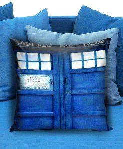 Doctor Who Tardis Police Public Call Box Pillow case
