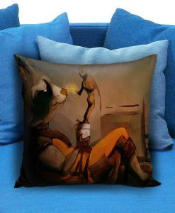 Guardians and groot Pillow Case