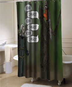 Hodor groot shower curtain customized design for home decor