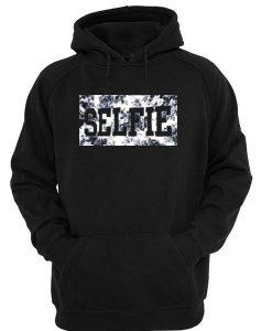 Selfie floral hoodie