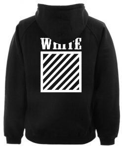 WHITE hoodie back