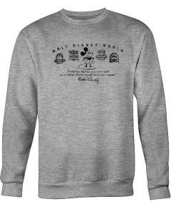 Walt Disney World Mickey Mouse Park Icons Sweatshirt
