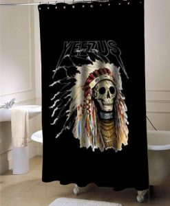 Yeezus Kanye west  shower curtain customized design for home decor
