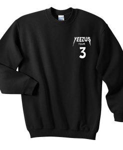 Yeezus Tour 3 Sweatshirt