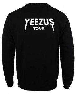 Yeezus Tour Sweatshirt Back