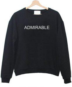 admirable sweatshirt
