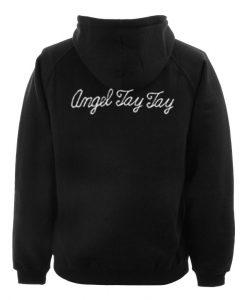 angel jay jay hoodie back
