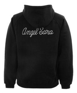 angel sara hoodie back