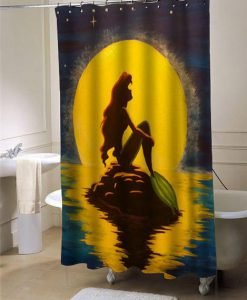 ariel the little mermaid shower curtain customized design for home decor