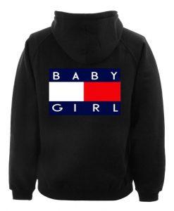 baby girl hoodie back