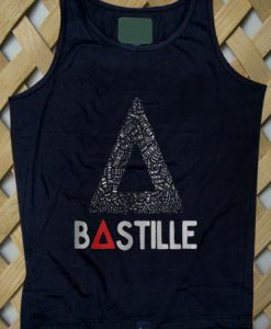 bastille tour Tank top