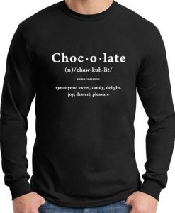 chocolate longsleeve