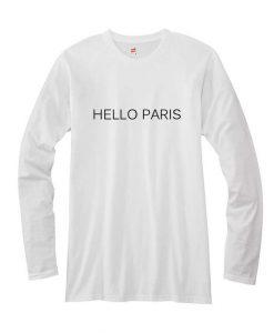 hello paris long sleeves