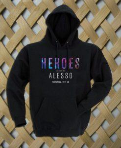 heroes alesso album cover Hoodie