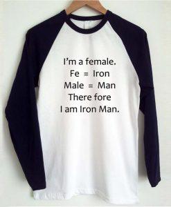 i'm a female reglan logsleeve