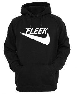 on fleek hoodie