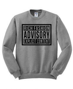 rich fashion Sweatshirt