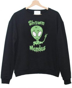 shawn mendes alien sweatshirt