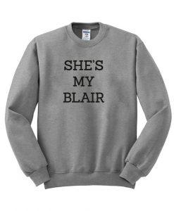 she's my blair