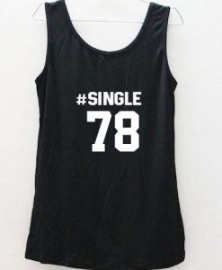 #single 78 Tank Top back
