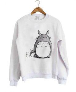 totoro 2 sweatshirt