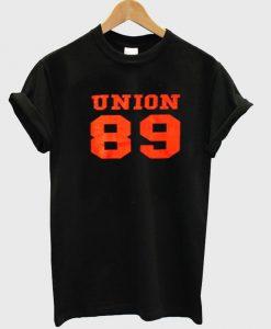 union 89 tshirt