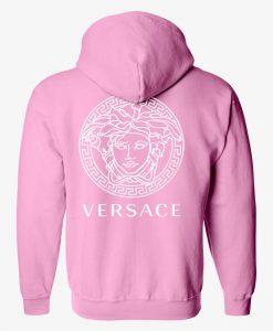 versace  HOODIE back