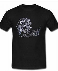 waves visual art T shirt