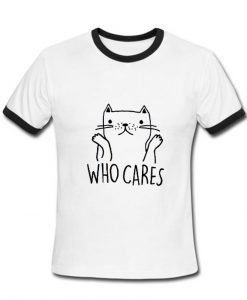 who cares tshirt ring
