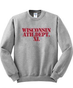 wisconsin athletic dept sweatshirt