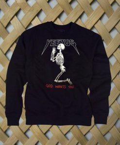 Yeezus3 sweatshirt