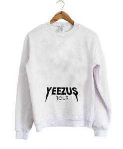 yeezus tour sweater