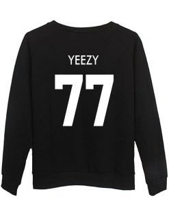 yeezy 77 back sweatshirt