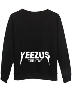 yezus back sweatshirt